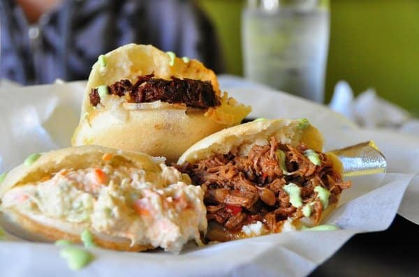 Venezuelan Reina Pepiada Arepas, Friday Night Snacks and More...