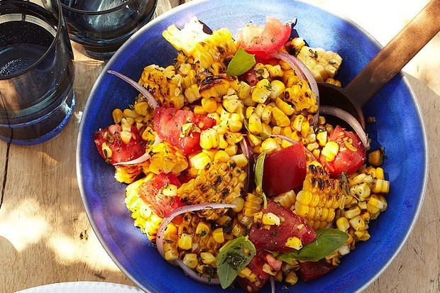 , Pan-Roasted Corn with Cherry Tomatoes, Friday Night Snacks and More...