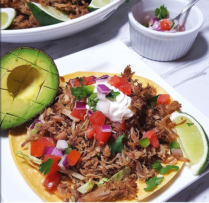 , Crispy Pressure Cooker Pork Carnitas, Friday Night Snacks and More...